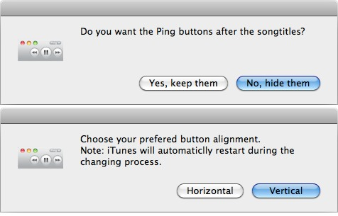 iTunes Button Changer